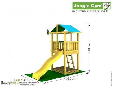 Jungle Gym Hut